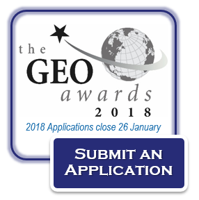 2018 GEO Awards   Submit an Application
