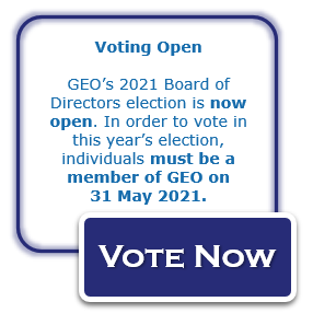 GEO Board of Director Elections - Nominations Open