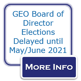 GEO Board of Director Elections Delayed until May/June 2021