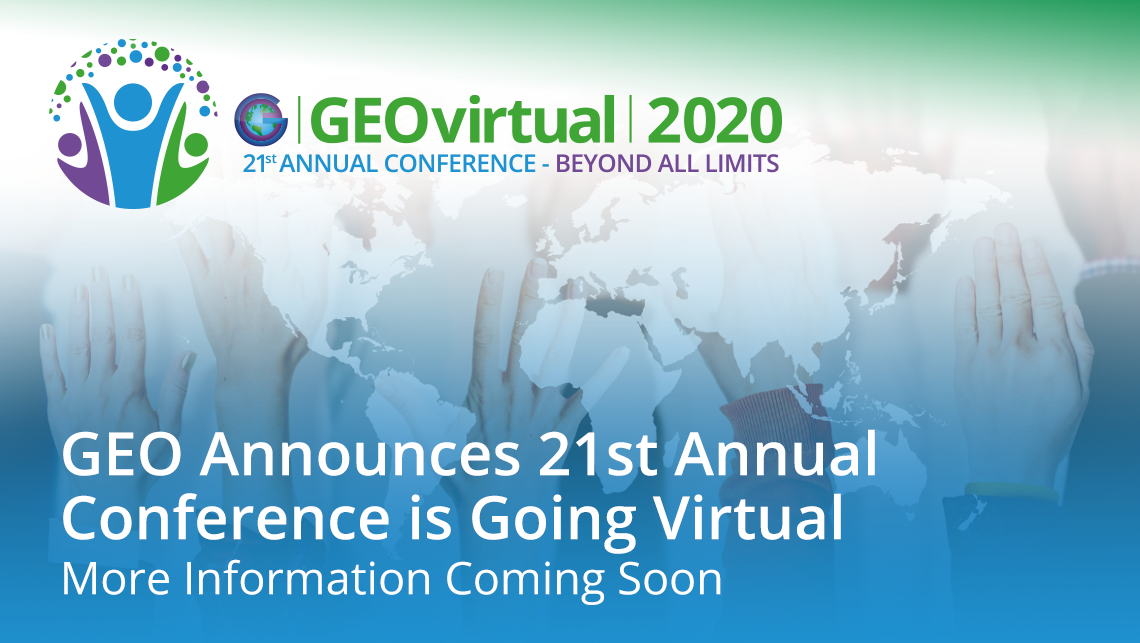 GEO's 21st Annual Conference
