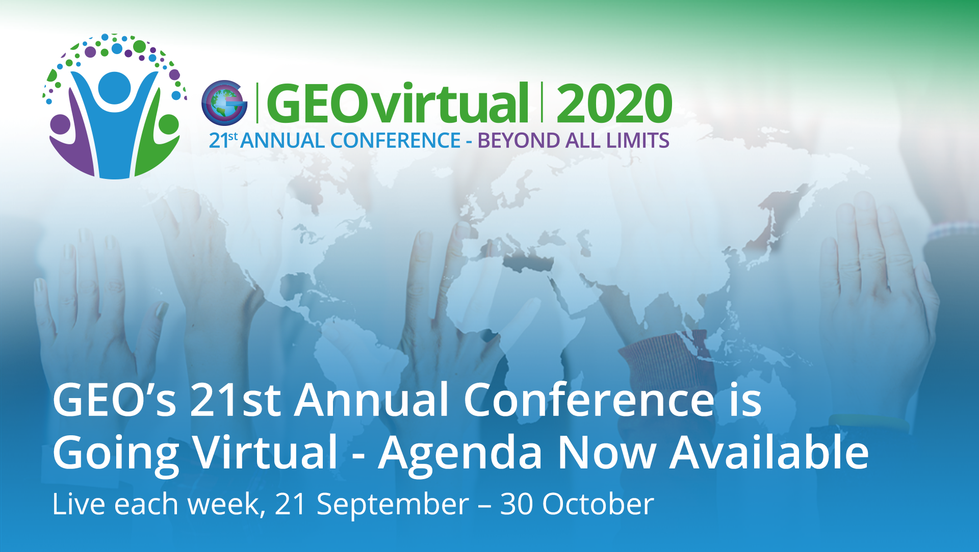 Agenda Announced for GEO's 21st Annual Conference