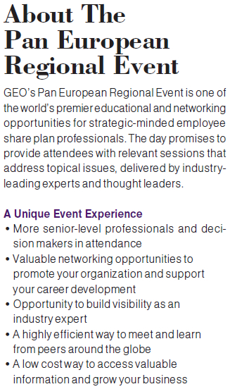 About the 2014 Pan European Regional Event