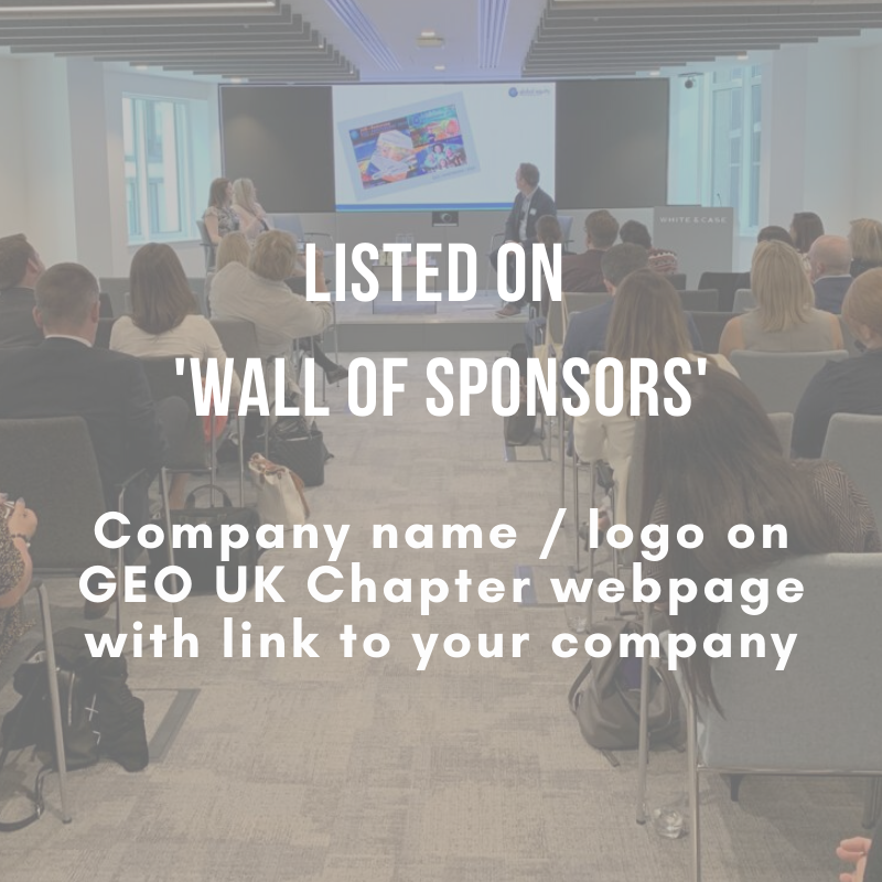 Listed on Wall of Sponsors