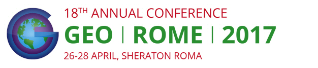 GEO's 18th Annual Conference, Rome, Italy, 26-28 April 2017